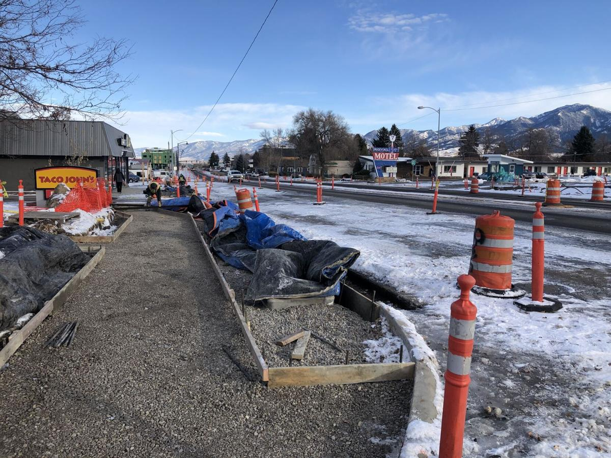 Roadwork on 7th Ave looking to finish up in December, whole project to finish spring 2021