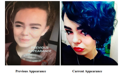16-year-old reported missing