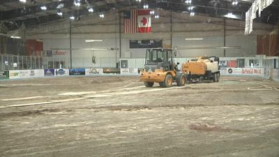 GF Ice Plex forced to make major repairs after noticing multiple leaks
