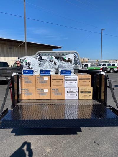 OXARC donates PPE to coronavirus testing site at Spokane Fairgrounds