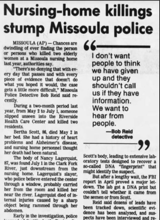 Rest Home Rapes and Homicides Part 3: Lasting Impacts on Law Enforcement, Local Journalist