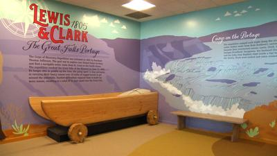 Lewis and Clark Exhibit at GTF