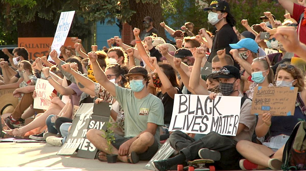 Black Lives Matter Bozeman rally