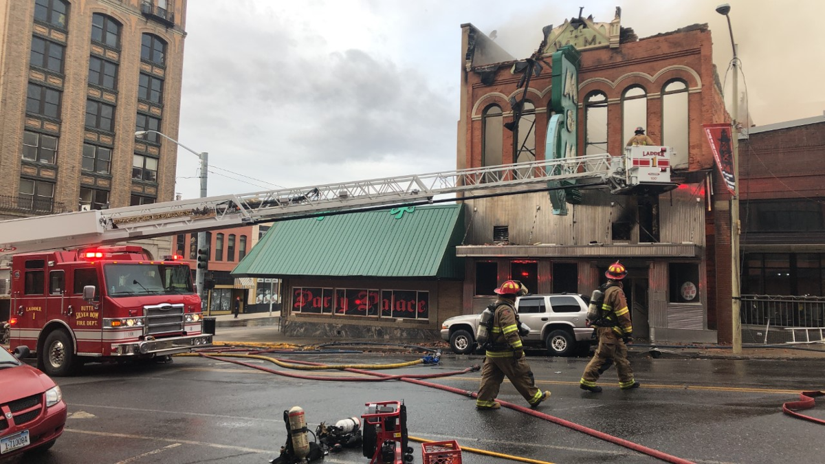 Historic M&M bar in Butte complete loss due to fire