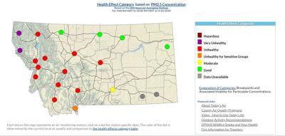 9/14 Air Quality Map