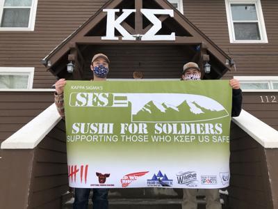 Montana State University Fraternity hosts fundraiser for post-9/11 combat veterans