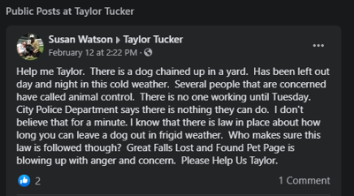 Help Me Taylor: Google algorithm leading to confusion when contacting GF Animal Control