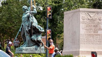 Charlottesville, VA removes Lewis & Clark statue with Sacajawea