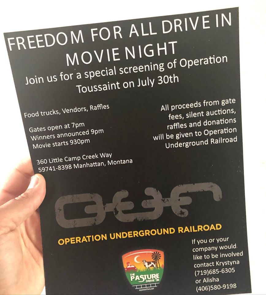 Pamphlet on the screening
