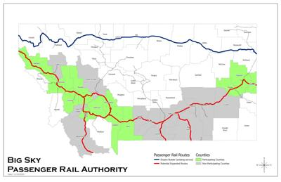 12 Montana counties clinch Big Sky Passenger Rail Authority