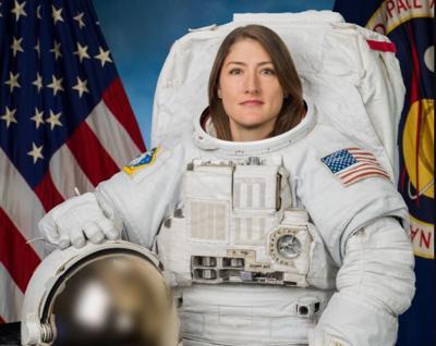 christina koch astronaut montana