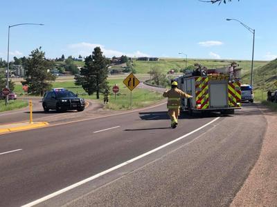 Crash on I-15