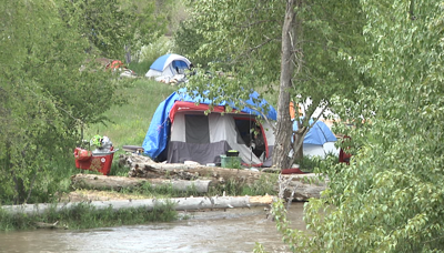Concerns grow for people experiencing homelessness near Reserve St. bridge