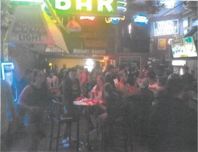 Bozeman Crowded Bar