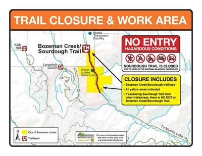 Sourdough Canyon Trail set to close Oct 11 for fuel reduction project