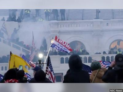 Trump protest storms capitol building