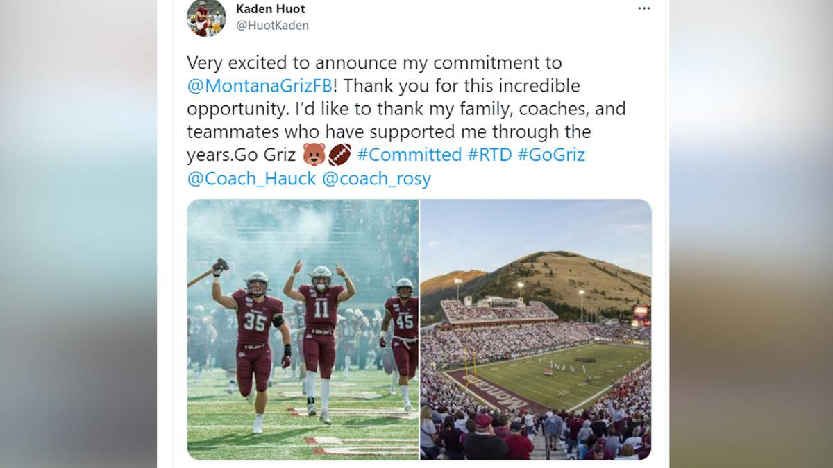 Helena High's Kaden Huot announces his commitment to the Griz