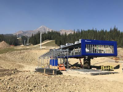 Big Sky Resort on schedule to finish North America's fastest chairlift