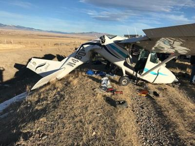 Small plane crashes near Dillon Airport