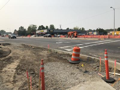 Streetscapes roadwork on 7th Ave behind schedule, part of project to help businesses in Midtown district