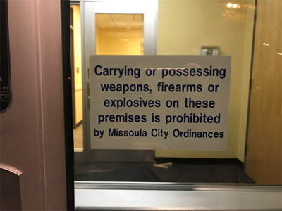 Missoula City bans firearms from several public spaces