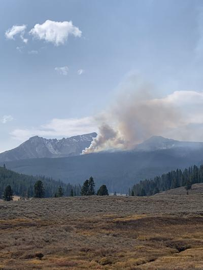 Big Sky Shedhorn Fire at 74 acres, suppression efforts stall due to drones