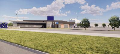 Bozeman Health facility in MSU's Bobcat Athletic Complex