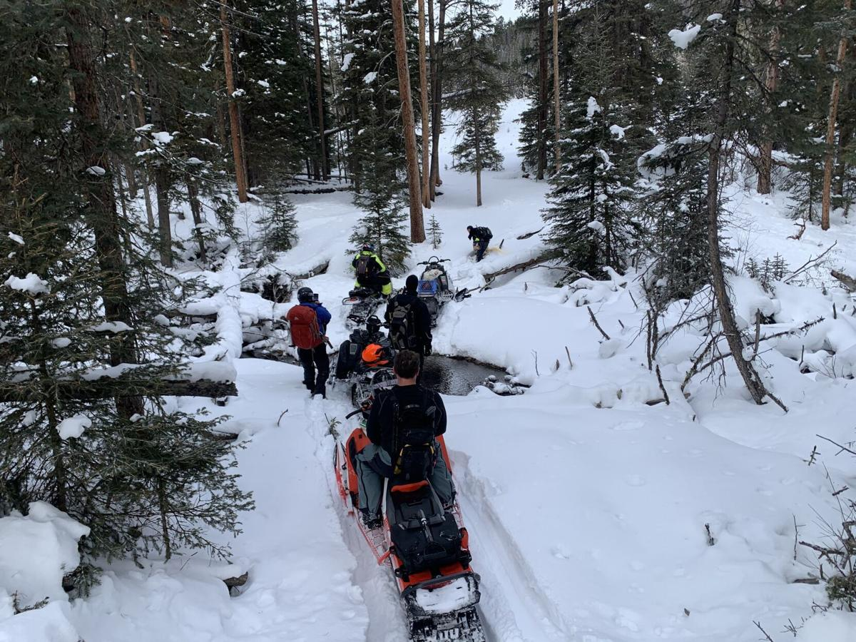 Snowmobilers rescued from Beartooth Mountains