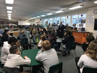 East Middle School receives $4,500 for new chromebooks