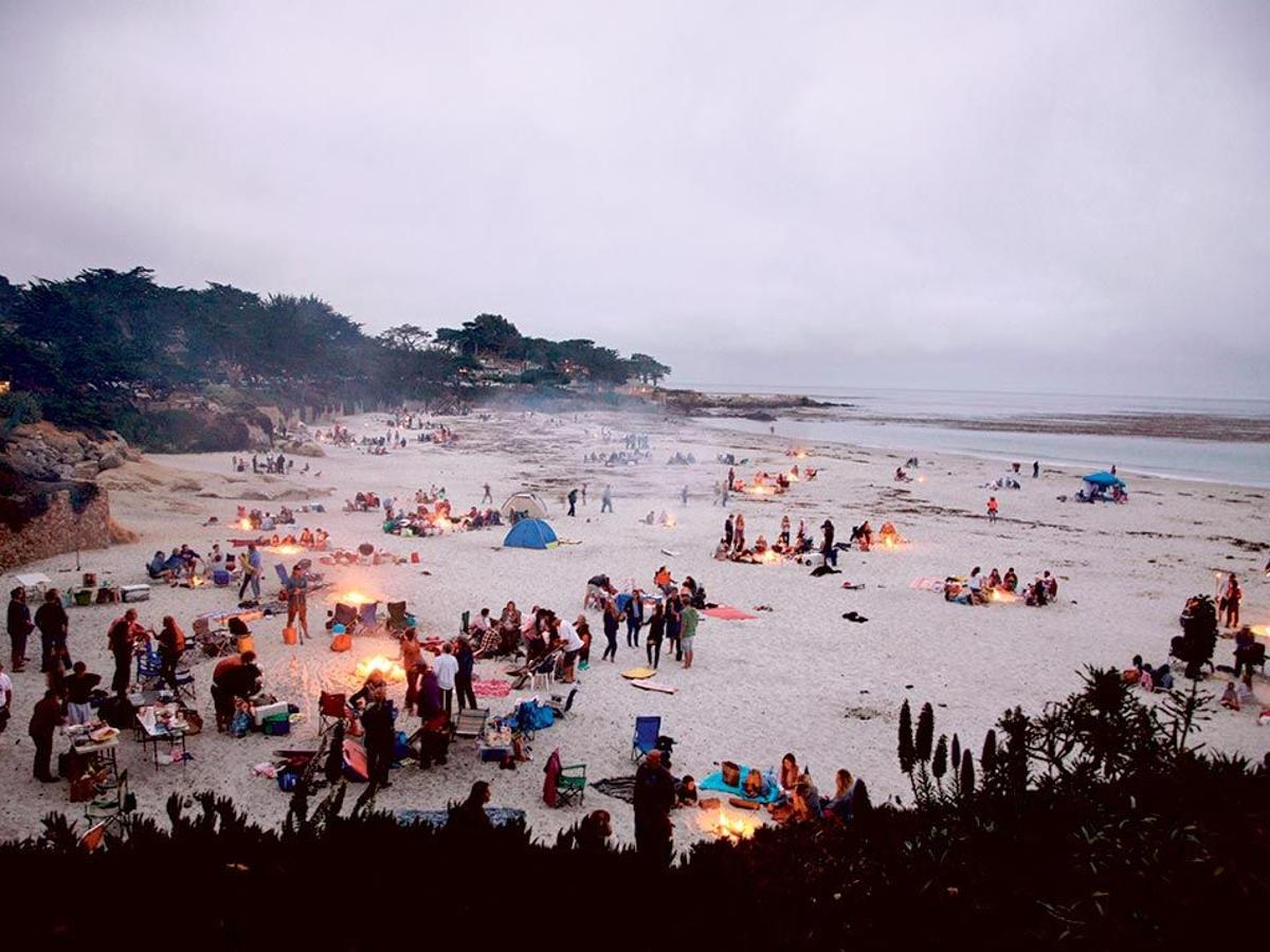 Carmel Beach Fires Have Become A Test
