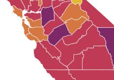Monterey County still in Red Tier