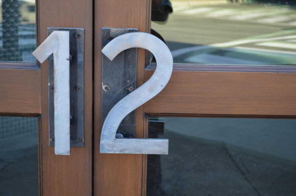 Turn 12 door handles