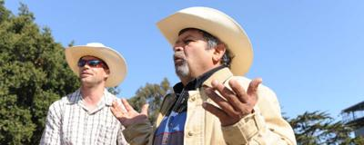 Salinas Cowboy tries to rope in support for charitable rodeo to stop violence.