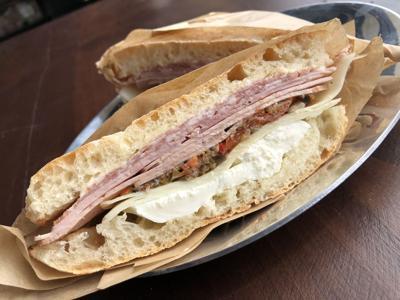 Muffeleta sandwich at The Meatery