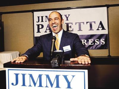Jimmy Panetta on Election Day in 2016, photographed by Nic Coury