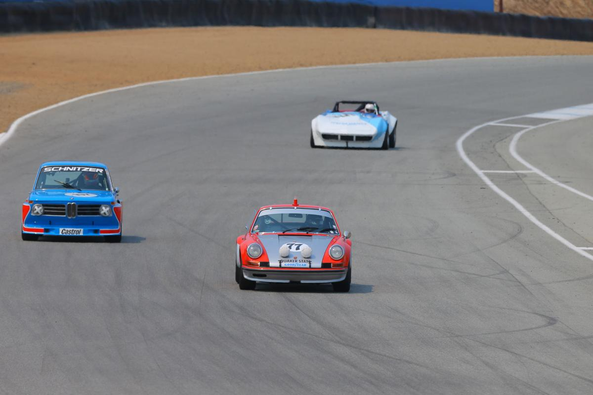 Rolex Monterey Motorsports Reunion at Mazda Raceway Laguna Seca ...