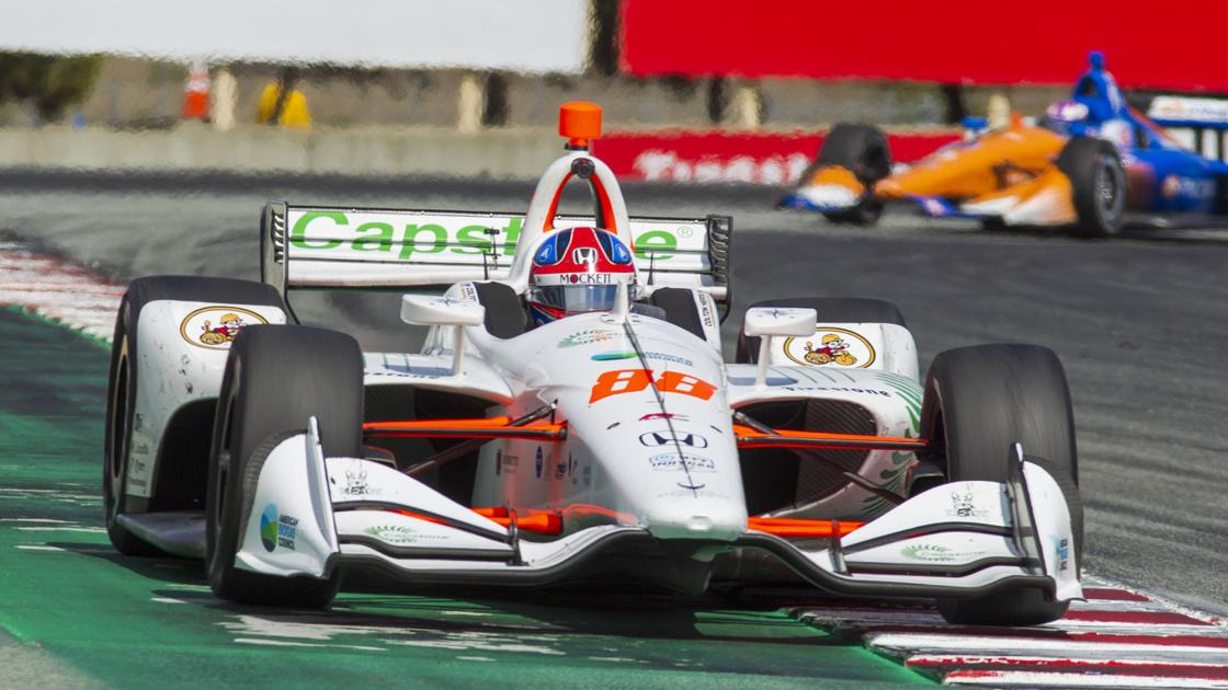Herta wins the race, Newgarden claims the season championship at IndyCar finale.