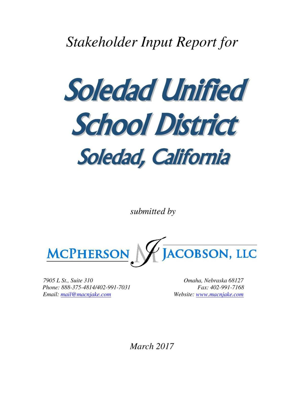 Salinas Union Superintendent To Leave For Soledad School District