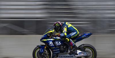 PHOTOS: Fast motorcycles at the Superbike World Championship at Laguna Seca.