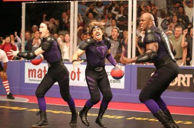 Inflatable jockstraps can't save Ben Stiller's dodgeball team.
