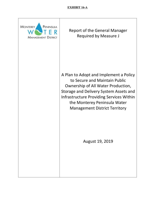 Aug. 19 Measure J report