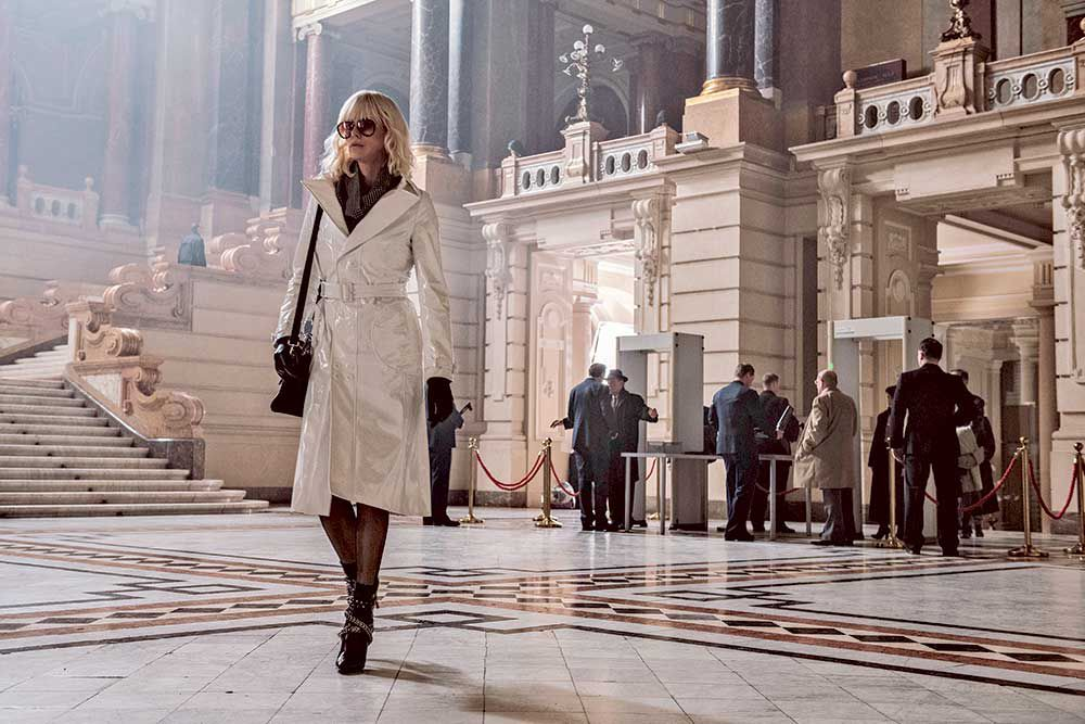 Charlize Theron is a cool Cold War agent in 'Atomic Blonde'