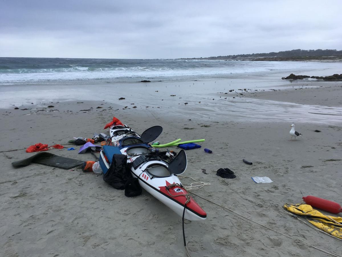 abb7503c6e9 Surfer helps rescue a drowning kayaker off of Spanish Bay.