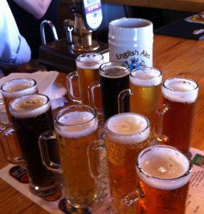 English Ales Pub Glasses