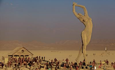 Burning Man's most memorable art piece was hatched here; its mandate is relevant everywhere.
