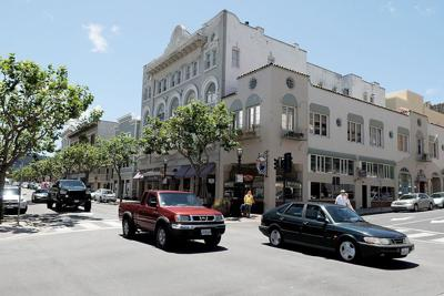 Downtown Monterey corner