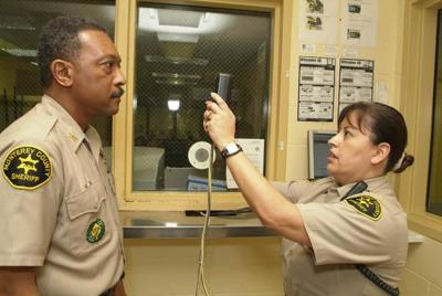 Sheriff's Office is the first in the nation to use iris scans in jail.