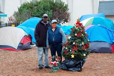 Salinas homeless build a rules-driven tent community on