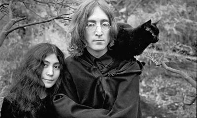 John Lennon artwork goes on display in Century City - latimes |Sketches John Lennon And Yoko Ono