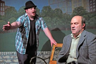 Edward Albee's absurd The Zoo Story emerges well-acted and engaging at Stardust Playhouse
